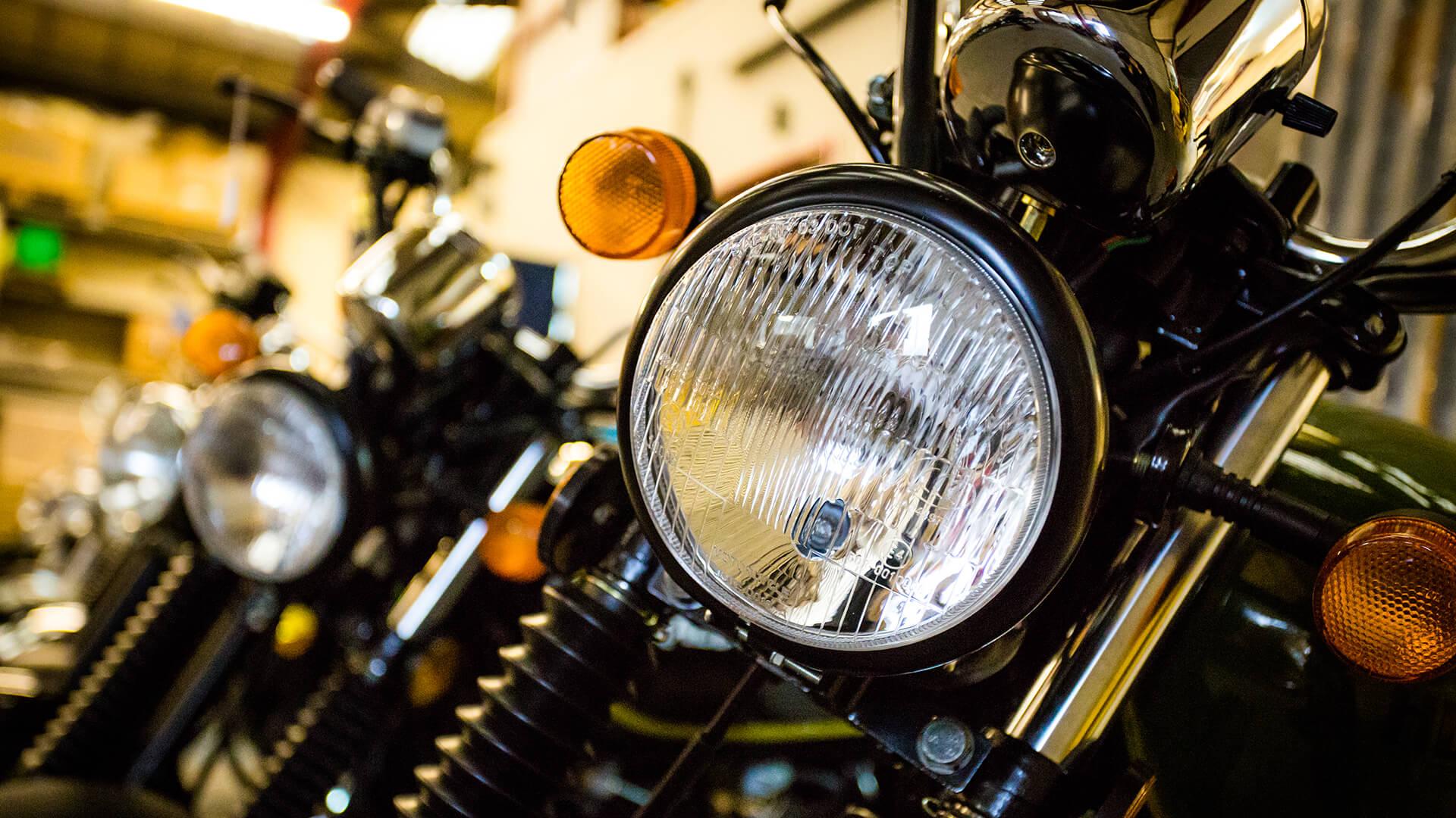 Herald motorcycle light