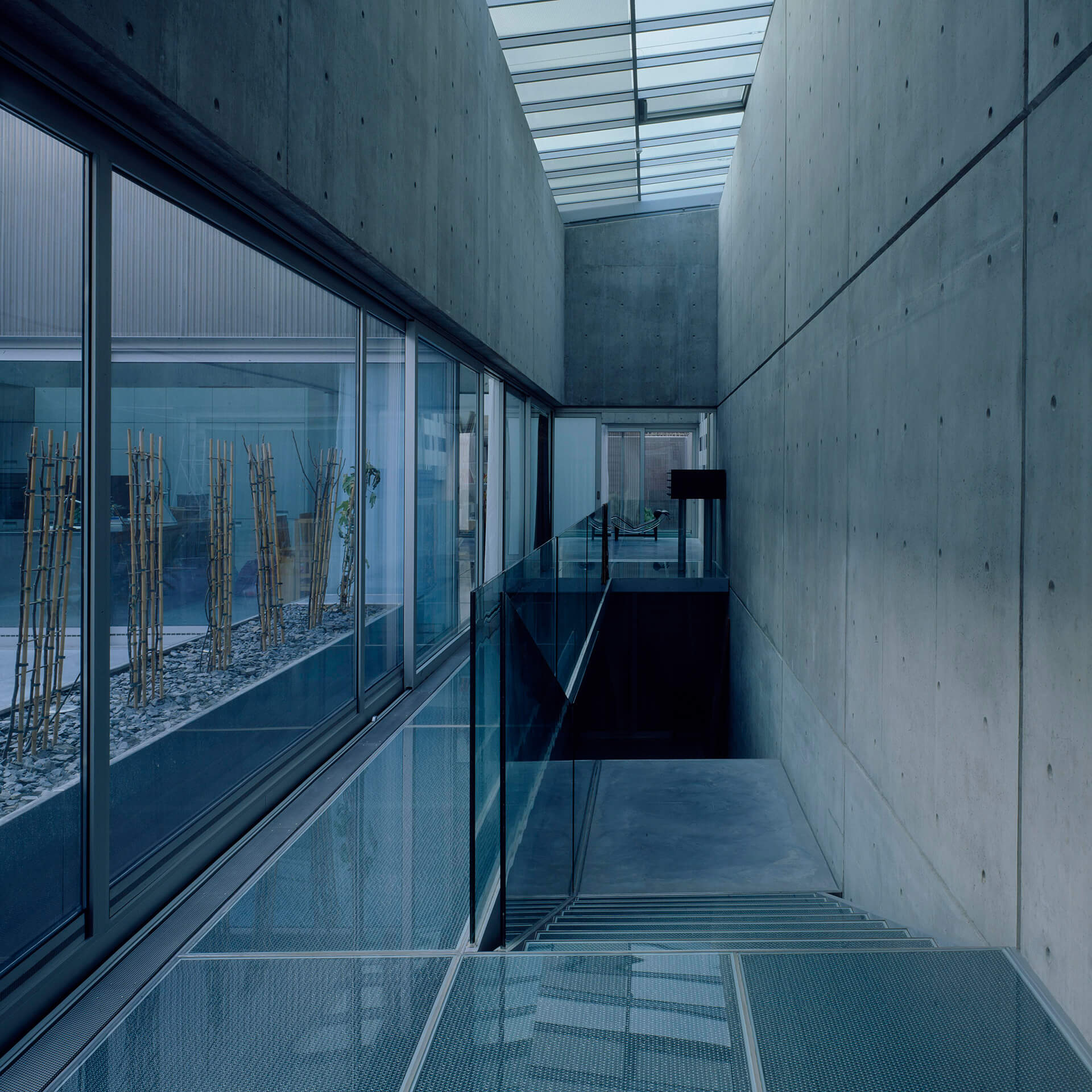 Priory of the Assumption corridor