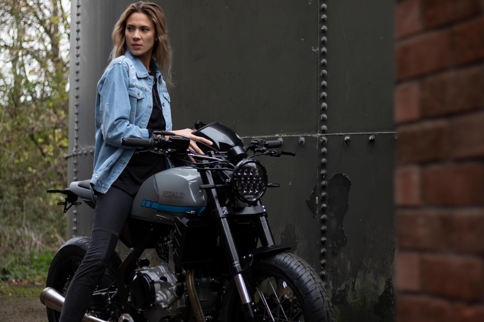 British-built motorcycle