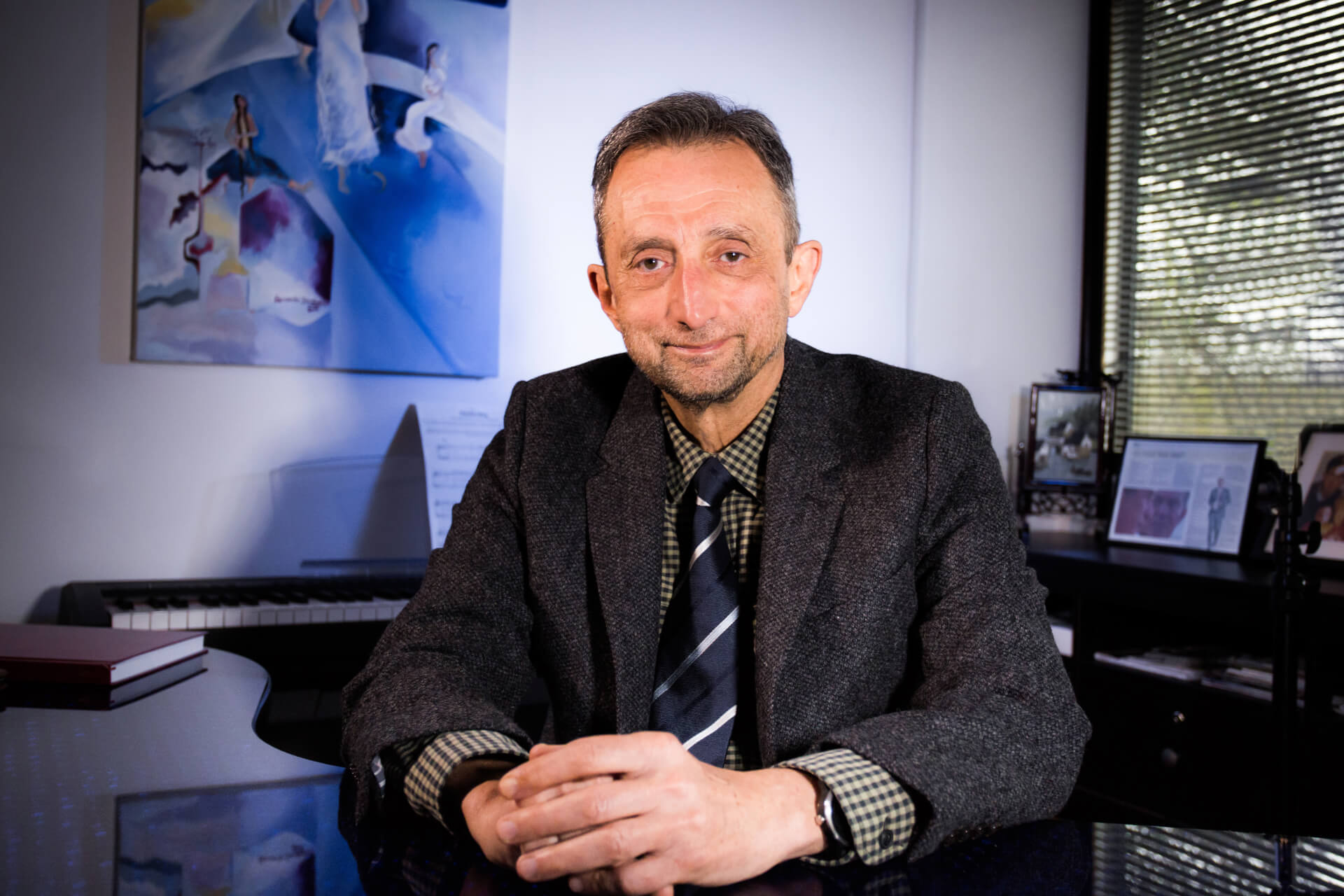 Dr Mike Asmead OBE
